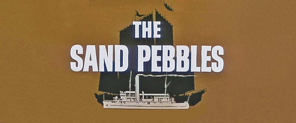 Image result for the sand pebbles title opening   gif