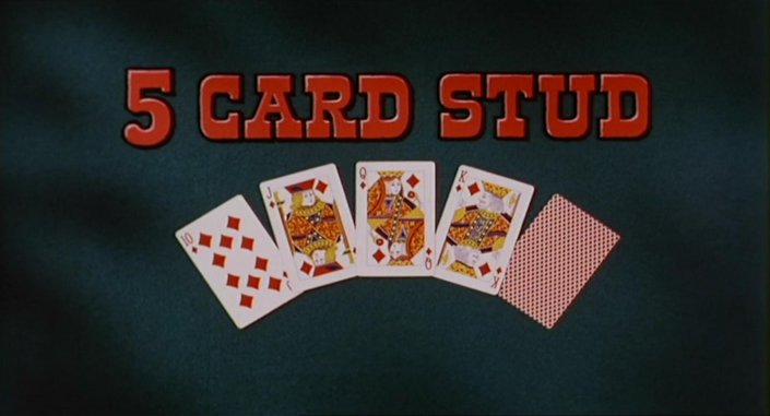 poker 5 card stud hands clap song