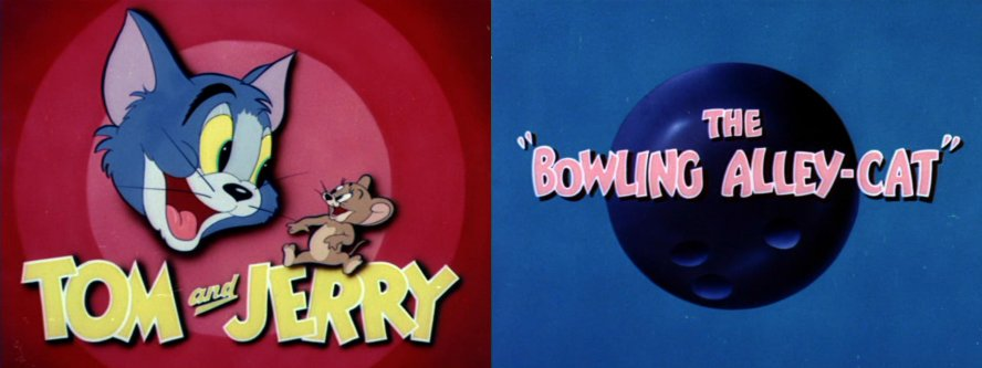 Tom and jerry the bowling alley cat