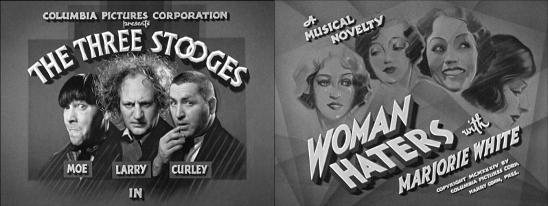Image result for the three stooges woman haters
