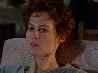 Sigourney Weaver on huge wall maps of the world, sigourney weaver deal of the century, sigourney weaver the tv set, julianne moore movie a map of the world,