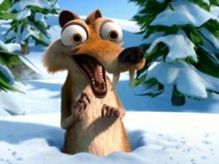 Scrat ice age christmas