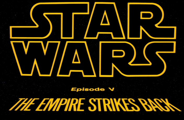 Image result for the empire strikes back title